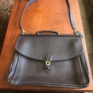 Never used - Vintage Lexington Coach Briefcase